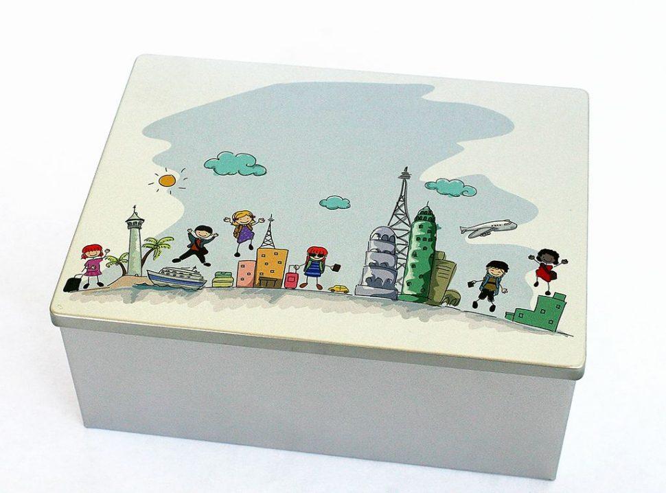 Krabička s obrázkem