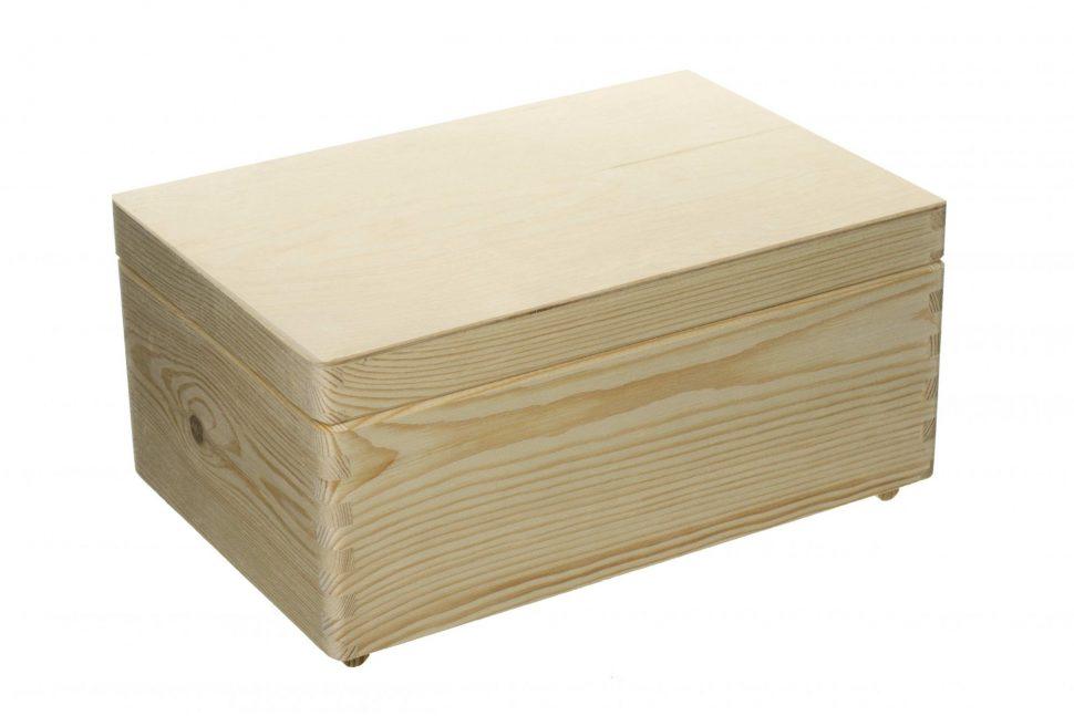 Bedýnka ze dřeva s víkem