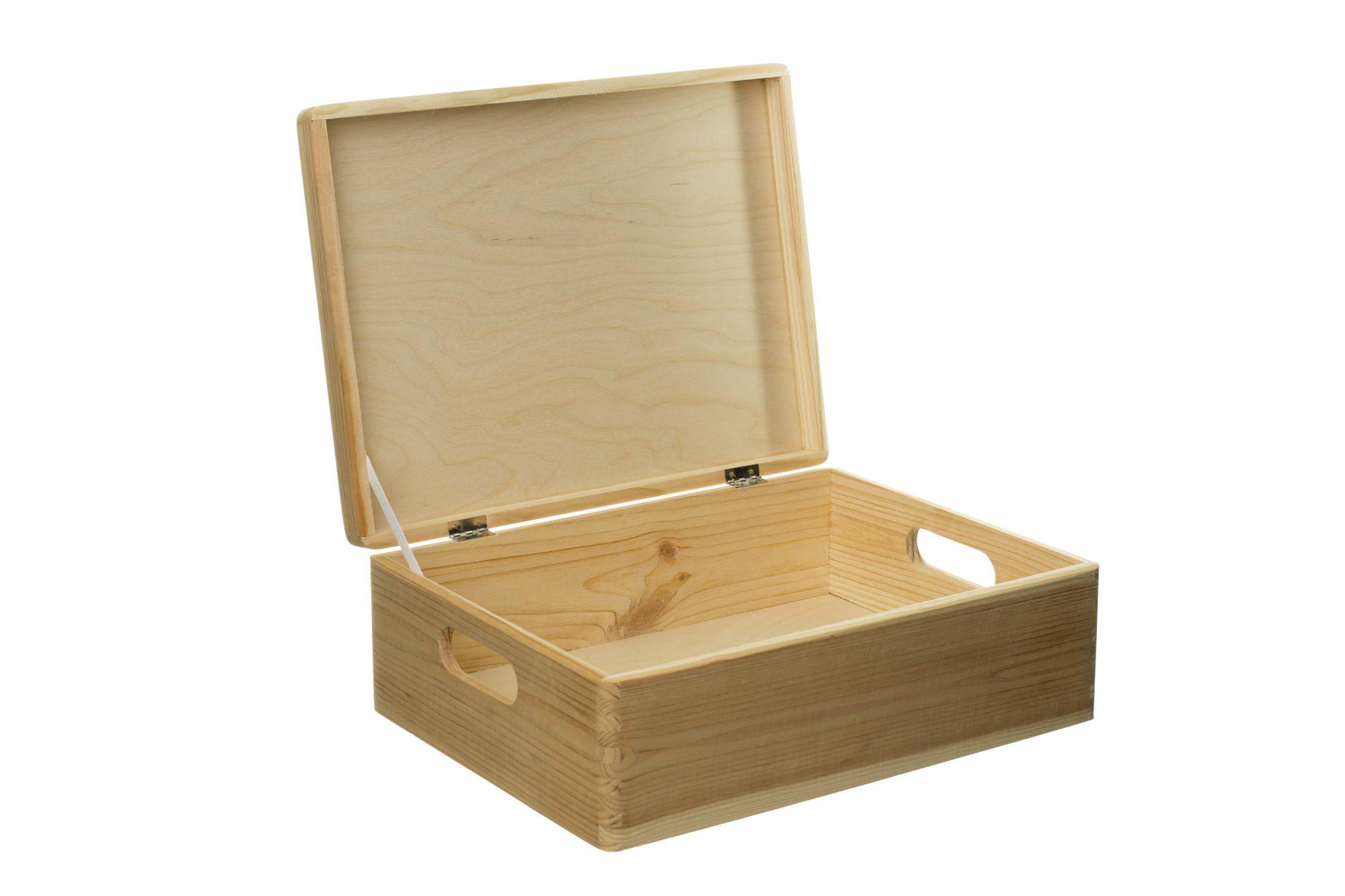 Bedna ze dřeva s víkem