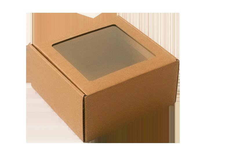 Hnědá krabička