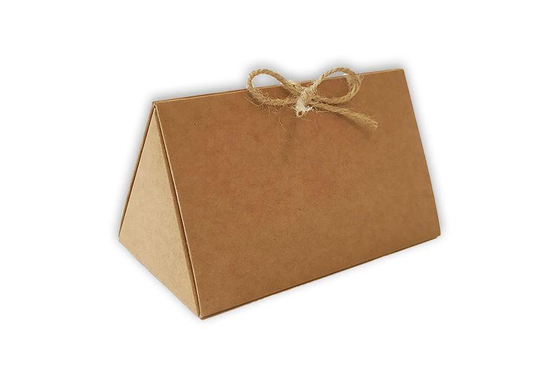 dárková krabička trojúhleníková