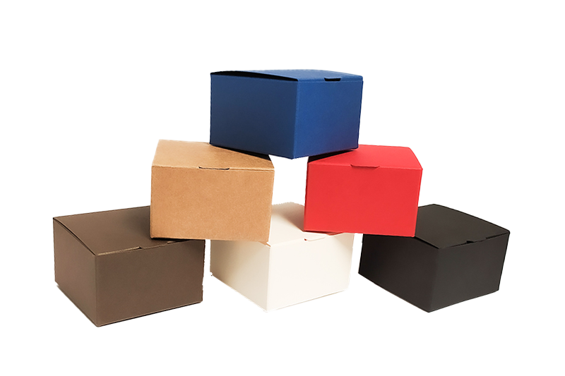 Čtveratá dárková barevná krabička