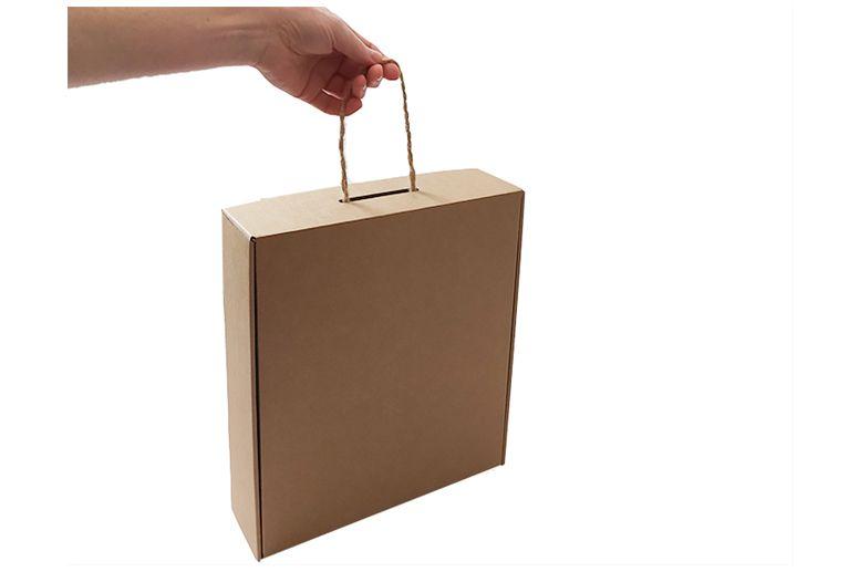 Krabice hnědá velká