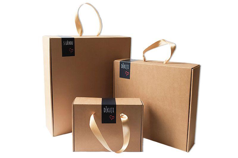 Sada velkých dárkových krabic