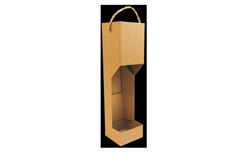Dárková krabice na víno s uchem